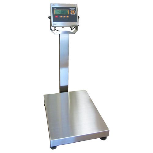 White Bird I10B-SXX Stainless Steel Bench or Floor Scale